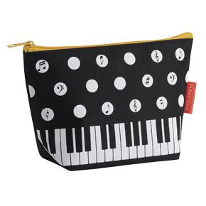 Piano line 水玉ポーチ