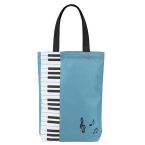 Piano line カラフルトート(ブルー)