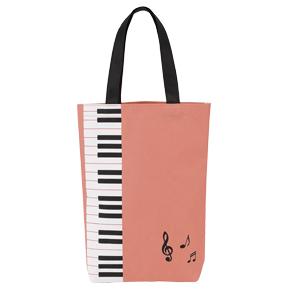 Piano line カラフルトート(ピンク)