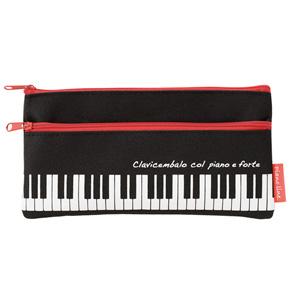Piano line  2段シンプルペンケース