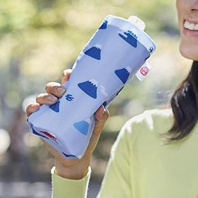 富士山柄 ボトルクーラー
