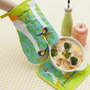 【トリポ】ミトン&鍋敷きセット