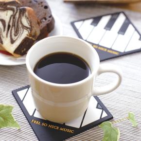 Piano line キーボードコースター
