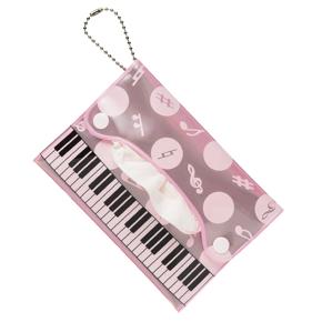 Piano line 反射ポケッティケース(ピンク)