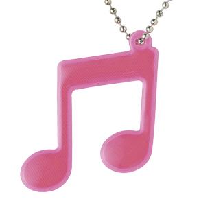 Piano line 音符リフレクター(ピンク)